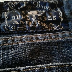 🌺 Nearly New Lucky Brand Dungarees Jeans